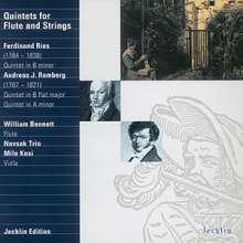 Andreas Romberg (1767-1821): Flötenquintette op.21 Nr.4 & 5, CD