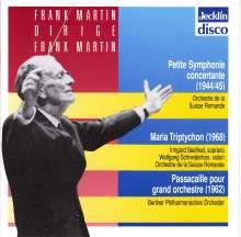 Frank Martin (1890-1974): Petite Symphonie Concertante, CD