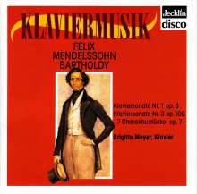 Felix Mendelssohn Bartholdy (1809-1847): Klavierwerke, CD