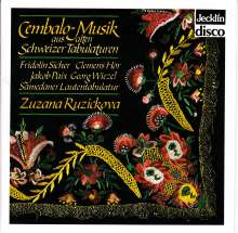 Zuzana Ruzickova - Musik aus alten Schweizer Tabulaturen, CD