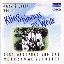 Lyrik und Jazz Vol.2, CD
