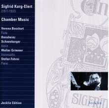 Sigfrid Karg-Elert (1877-1933): Cellosonate op.71, CD