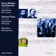 Georg Wilhelm Rauchenecker (1844-1906): Streichquartett Nr.1, CD