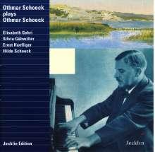 Othmar Schoeck (1886-1957): Lieder (von Schoeck begleitet), CD