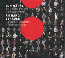 Richard Strauss (1864-1949): Symphonische Dichtungen, CD
