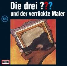 Die drei ??? (Folge 058) und der verrückte Maler, CD