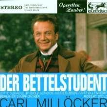 Carl Millöcker (1842-1899): Der Bettelstudent (Ausz.), CD