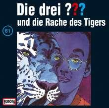 Die drei ??? (Folge 061) und die Rache des Tigers, CD