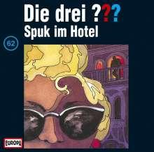 Die drei ??? (Folge 062) - Spuk im Hotel, CD