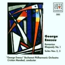 George Enescu (1881-1955): Orchestersuiten Nr.2 & 3, CD