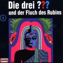 Die drei ??? (Folge 005) und der Fluch des Rubins, CD