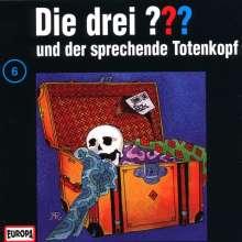 Die drei ??? (Folge 006) und der sprechende Totenkopf, CD