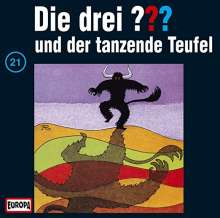 Die Drei ???: Die Drei ??? (Folge 21) - und der tanzende Teufel (Picture Disc), LP