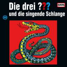 Die drei ???: Die drei ??? und die singende Schlange (Folge 25) (Limited Edition) (Picture Disc), LP
