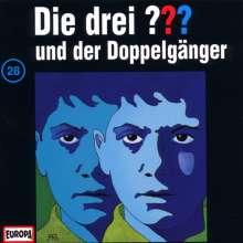 Die drei ??? (Folge 028) und der Doppelgänger, CD