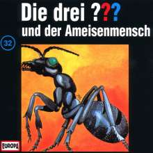 Die drei ??? (Folge 032) und der Ameisenmensch, CD