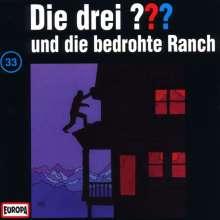 Die drei ??? (Folge 033) und die bedrohte Ranch, CD