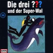 Die drei ??? (Folge 036) und der Super-Wal, CD