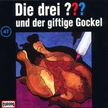 Die drei ??? (Folge 047) und der giftige Gockel, CD