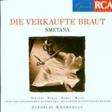 Bedrich Smetana (1824-1884): Die verkaufte Braut (in dt.Spr.), 2 CDs