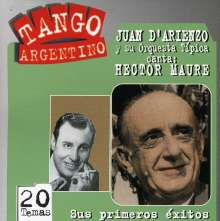Juan D'Arienzo: Sus Primeros Exitos: Tango Argentino, CD