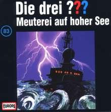 Die drei ??? (Folge 083) - Meuterei auf hoher See, CD
