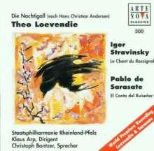 Theo Loevendie (geb. 1930): Die Nachtigall für Sprecher & Orchester, CD