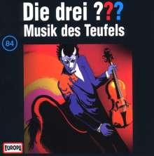Die drei ??? (Folge 084) - Musik des Teufels, CD