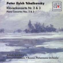 Peter Iljitsch Tschaikowsky (1840-1893): Klavierkonzerte Nr.2 & 3, CD