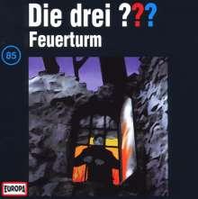 Die drei ??? (Folge 085) - Feuerturm, CD