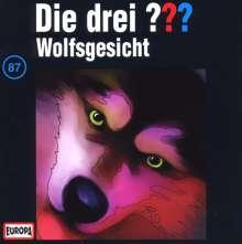 Die drei ??? (Folge 087) - Wolfsgesicht, CD