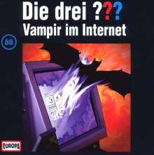 Die drei ??? (Folge 088) - Vampir im Internet, CD