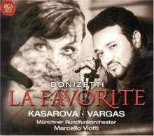 Gaetano Donizetti (1797-1848): La Favorita (in französischer Sprache), 2 CDs