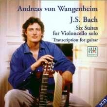 Johann Sebastian Bach (1685-1750): Suiten BWV 1007-1012 f.Gitarre, 2 CDs