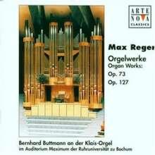 Max Reger (1873-1916): Variationen & Fuge op.73, CD