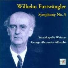 Wilhelm Furtwängler (1886-1954): Symphonie Nr.3, CD