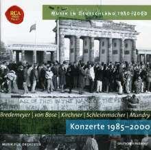 Musik in Deutschland 1950-2000 - Konzerte 1985-2000, CD