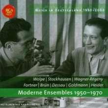 Musik in Deutschland 1950-2000 - Moderne Ensemble 1950-1970, CD