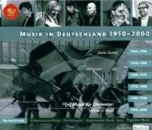 Musik in Deutschland 1950-2000:Sinfonische Musik 2, 6 CDs