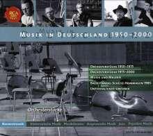 Musik in Deutschland 1950-2000:Musik für Orchester, 5 CDs