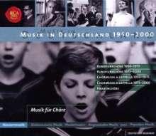 Musik in Deutschland 1950-2000:Musik für Chor & Orchester, 5 CDs