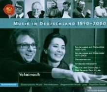 Musik in Deutschland 1950-2000:Sologesang mit Orchester, 5 CDs