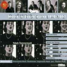 Musik in Deutschland 1950-2000:Vokale Kammermusik, 10 CDs