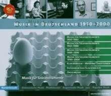 Musik in Deutschland 1950-2000:Musik für Soloinstrumente, 7 CDs