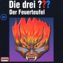 Die drei ??? (Folge 090) - Der Feuerteufel, CD