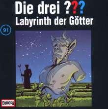 Die drei ??? (Folge 091) - Labyrinth der Götter, CD