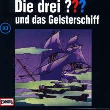 Die drei ??? (Folge 093) und das Geisterschiff, CD
