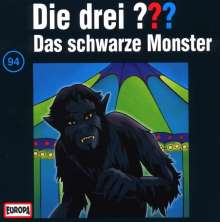 Die drei ??? (Folge 094) und das schwarze Monster, CD