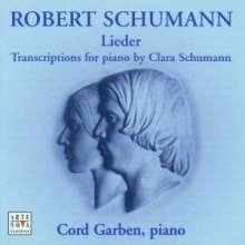 Clara Schumann (1819-1896): Transkriptionen von Liedern von Robert Schumann, CD