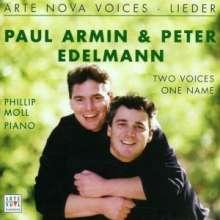 Paul Armin & Peter Edelmann singen Lieder, CD